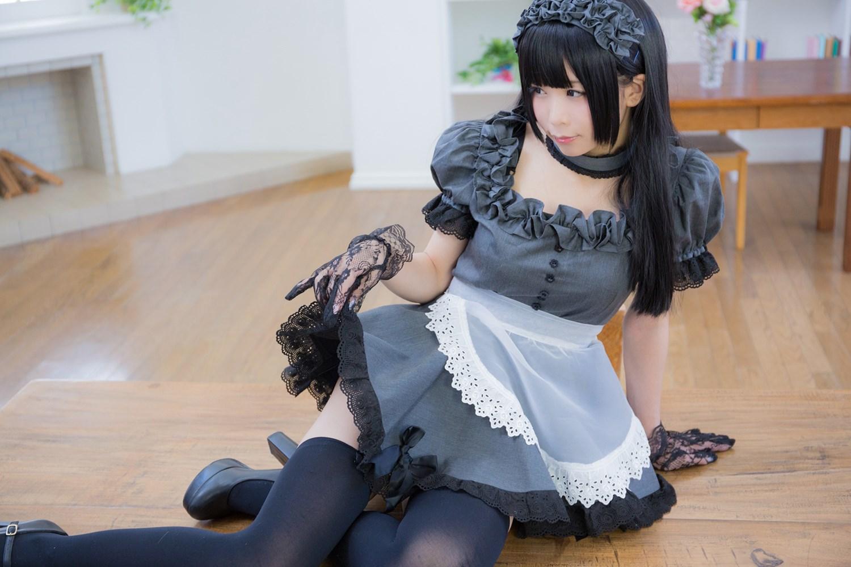 【兔玩映画】黑丝女仆 兔玩映画 第7张