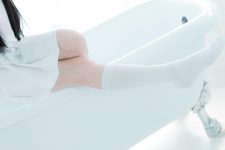 【兔玩映画】白色的水手服 兔玩映画 第31张