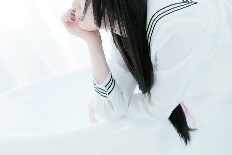 【兔玩映画】白色的水手服 兔玩映画 第30张