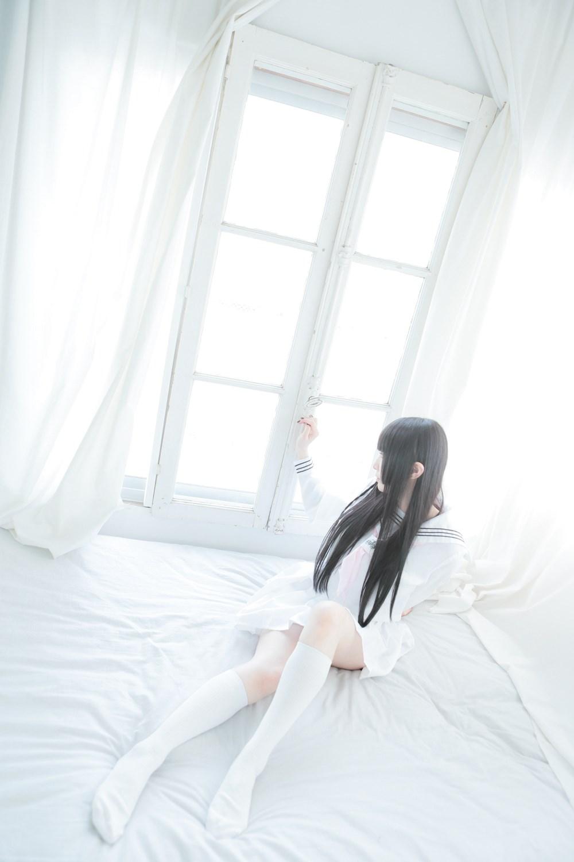 【兔玩映画】白色的水手服 兔玩映画 第22张