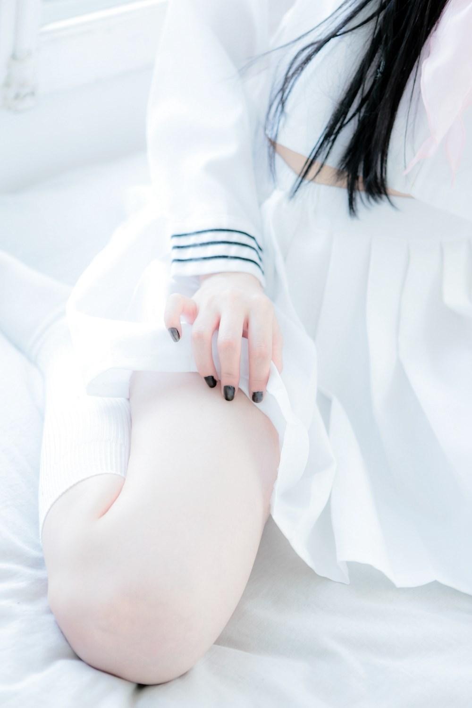 【兔玩映画】白色的水手服 兔玩映画 第14张