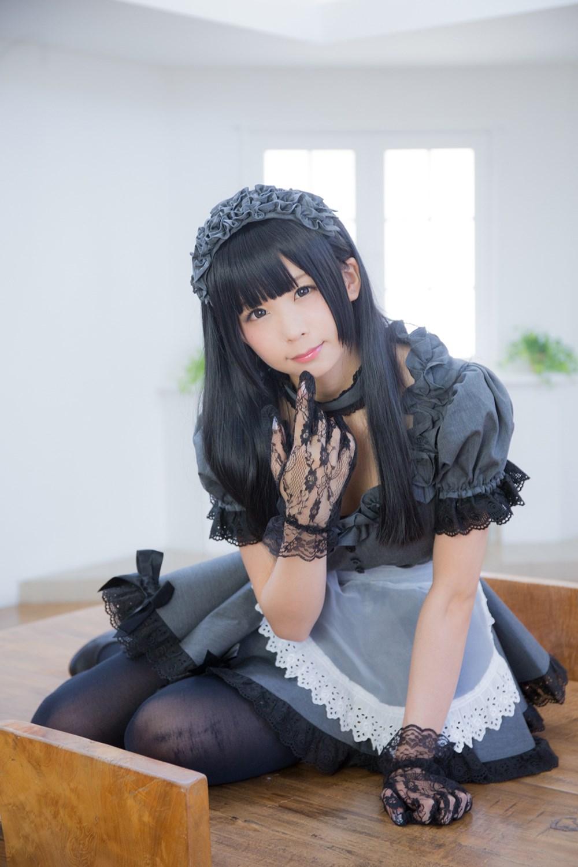 【兔玩映画】黑丝女仆 兔玩映画 第6张