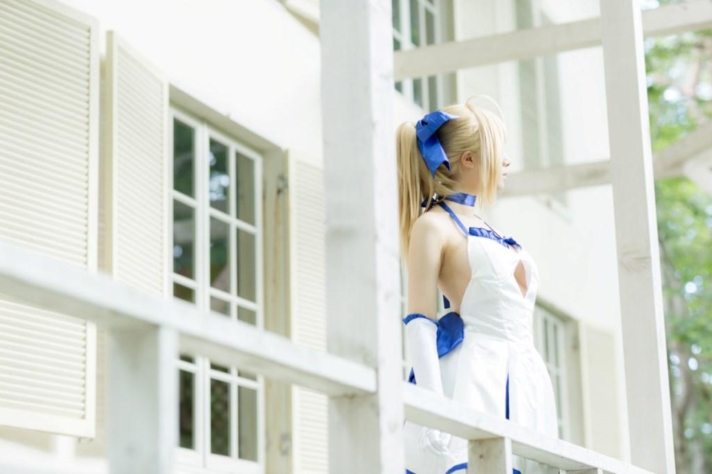 【兔玩映画】白saber 兔玩映画 第31张