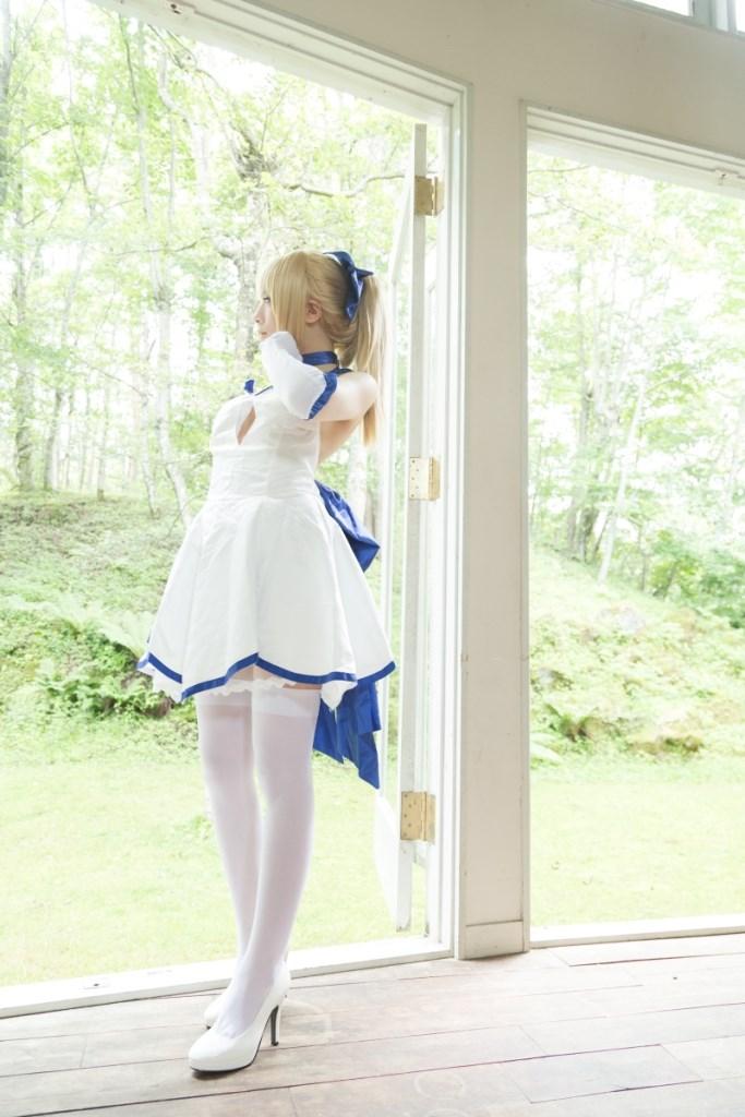 【兔玩映画】白saber 兔玩映画 第2张