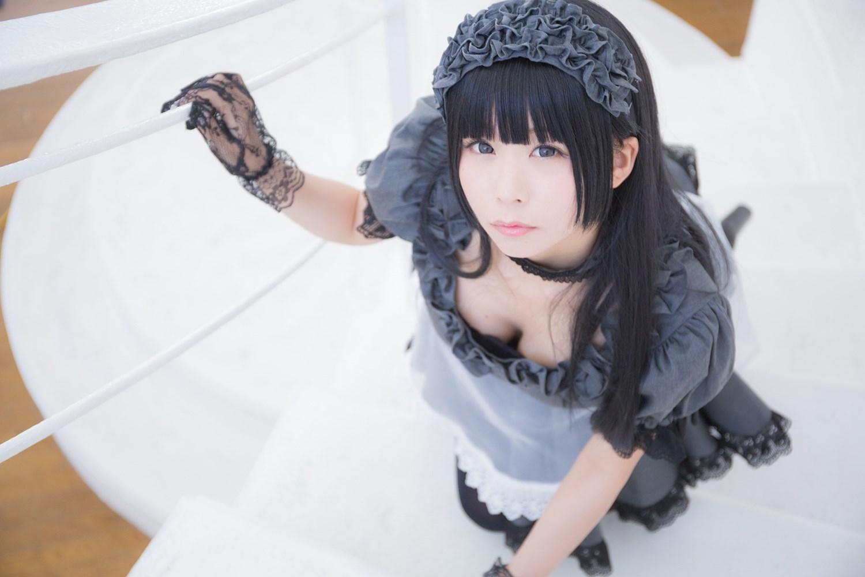 【兔玩映画】黑丝女仆 兔玩映画 第33张
