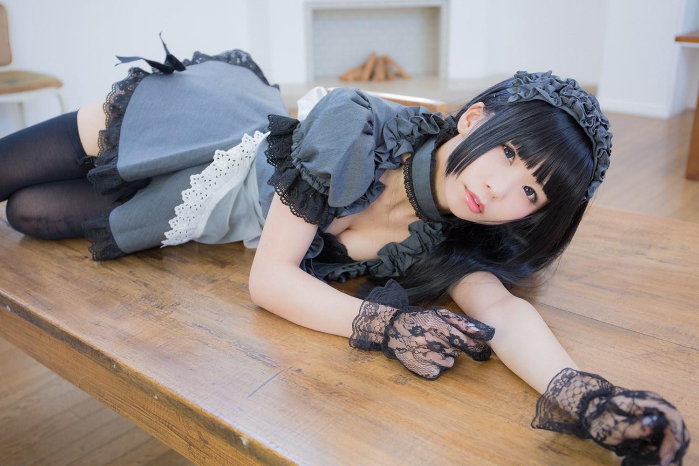 【兔玩映画】黑丝女仆 兔玩映画 第12张