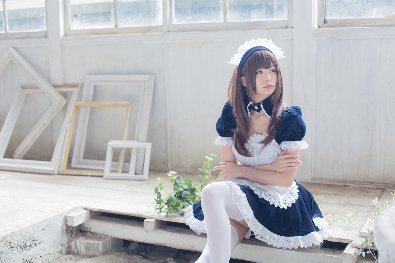 【兔玩映画】白丝女仆 兔玩映画 第34张