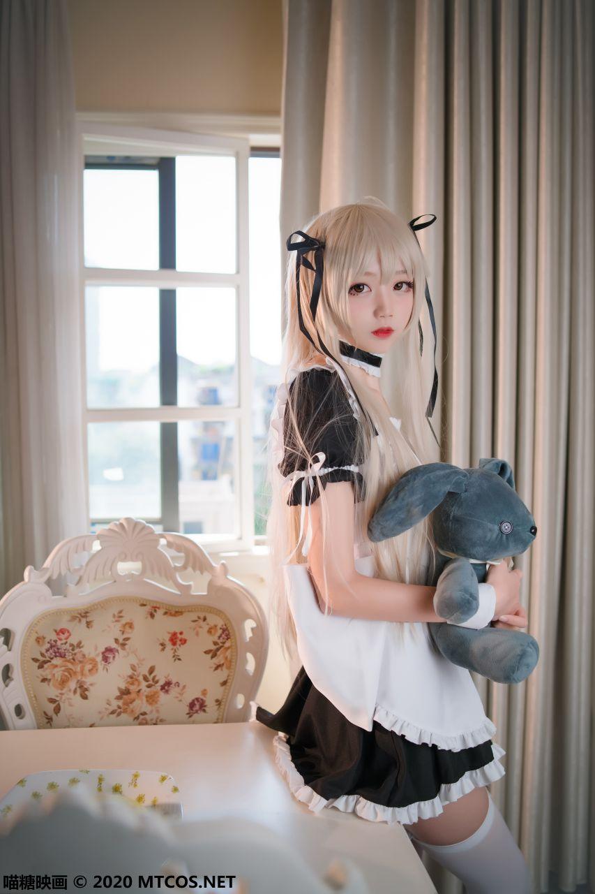 【喵糖映画】喵糖映画 – VOL.092 女仆和兔女郎 [30P-451M] 喵糖映画 第5张
