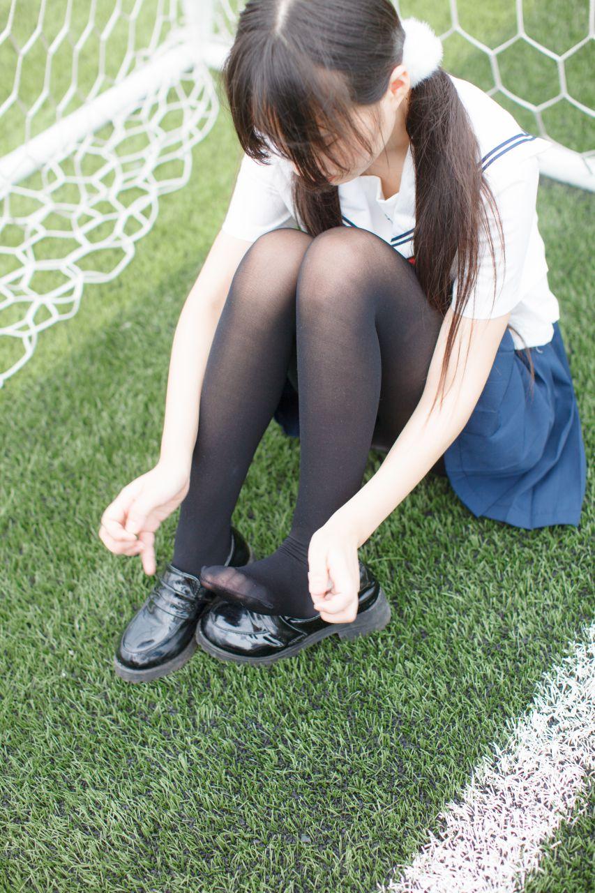 少女秩序 EXVOL.01 超好看的白丝写真 兔玩映画 第11张