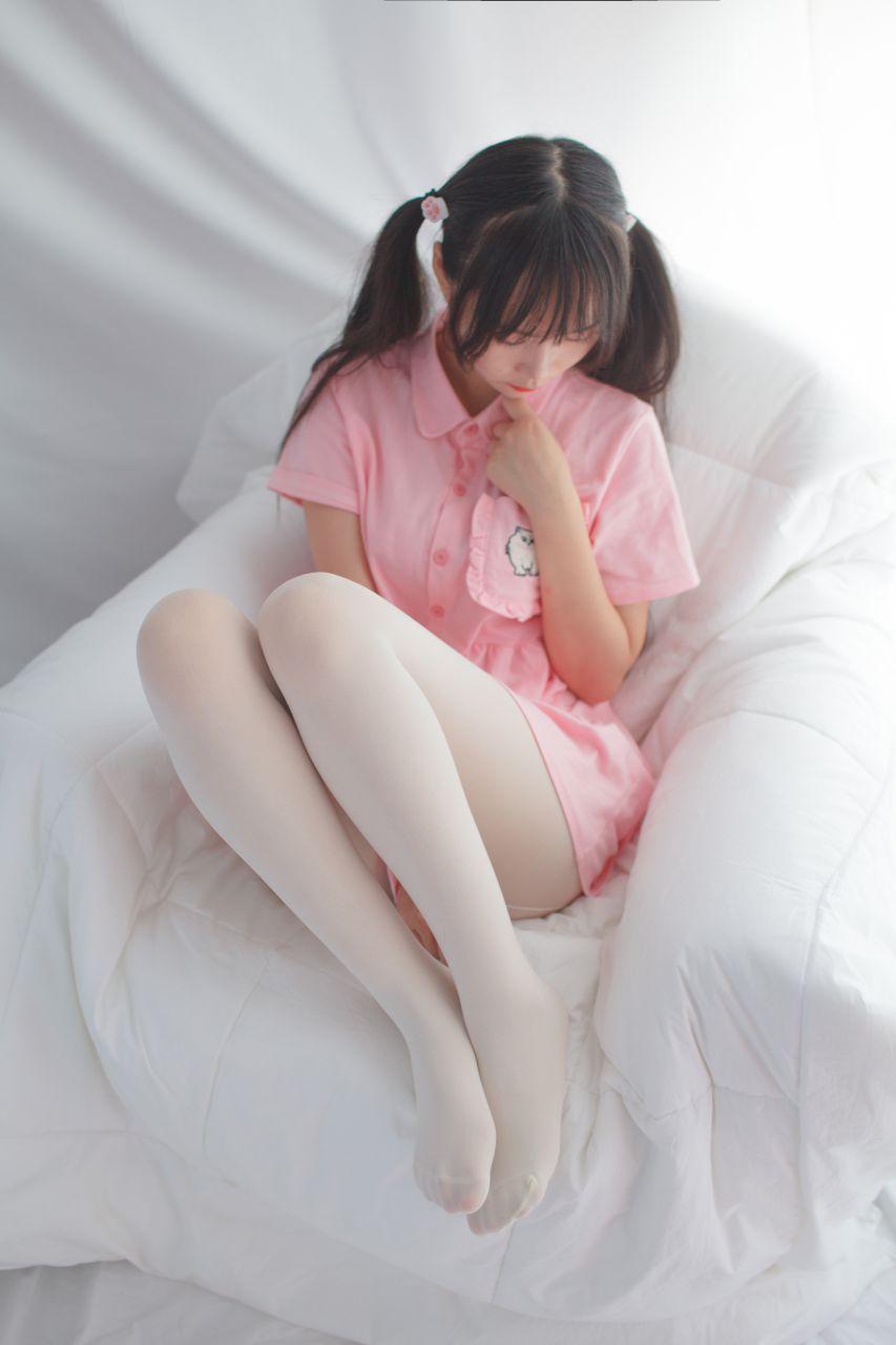 少女秩序 EXVOL.01 超好看的白丝写真 兔玩映画 第13张