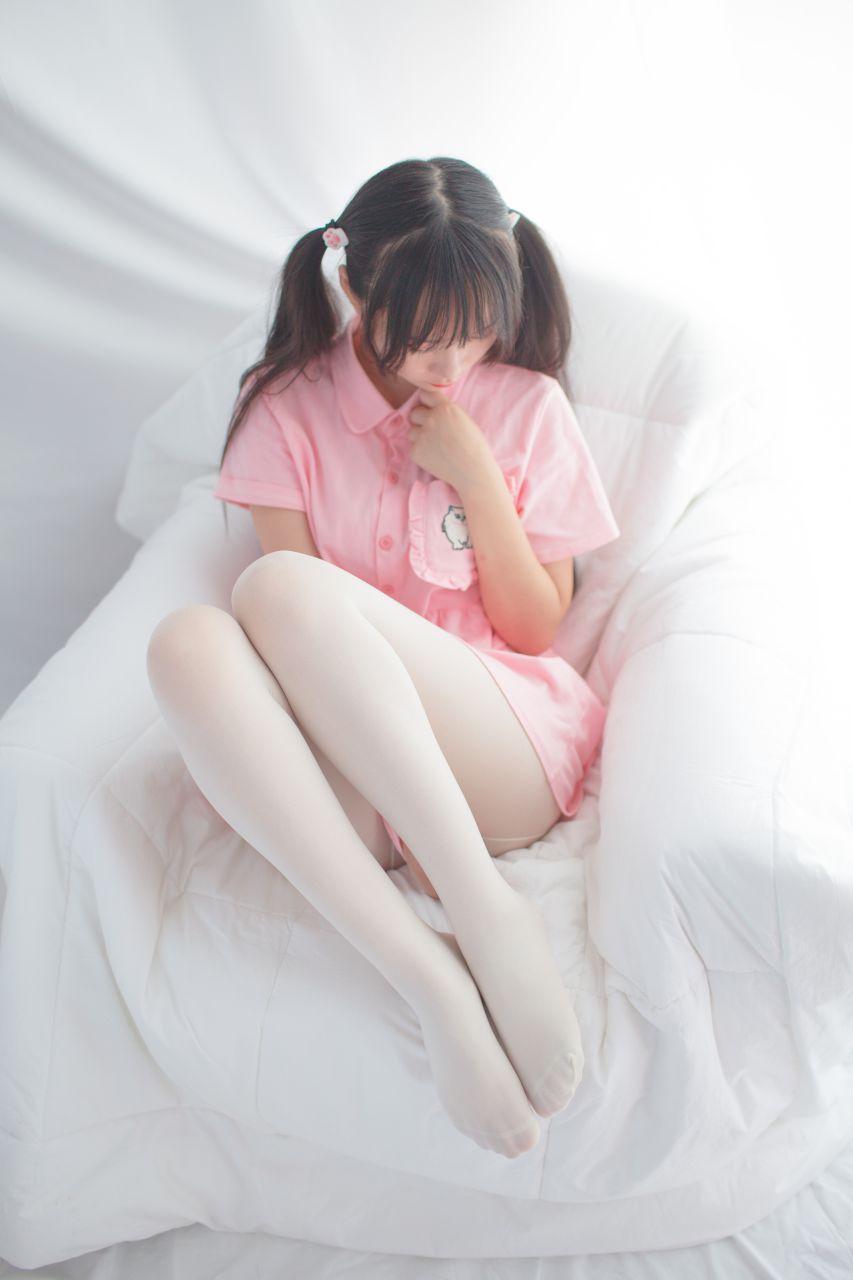 少女秩序 EXVOL.01 超好看的白丝写真 兔玩映画 第14张