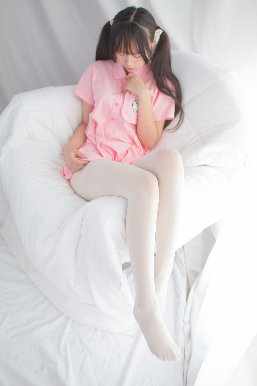 少女秩序 EXVOL.01 超好看的白丝写真 兔玩映画 第16张