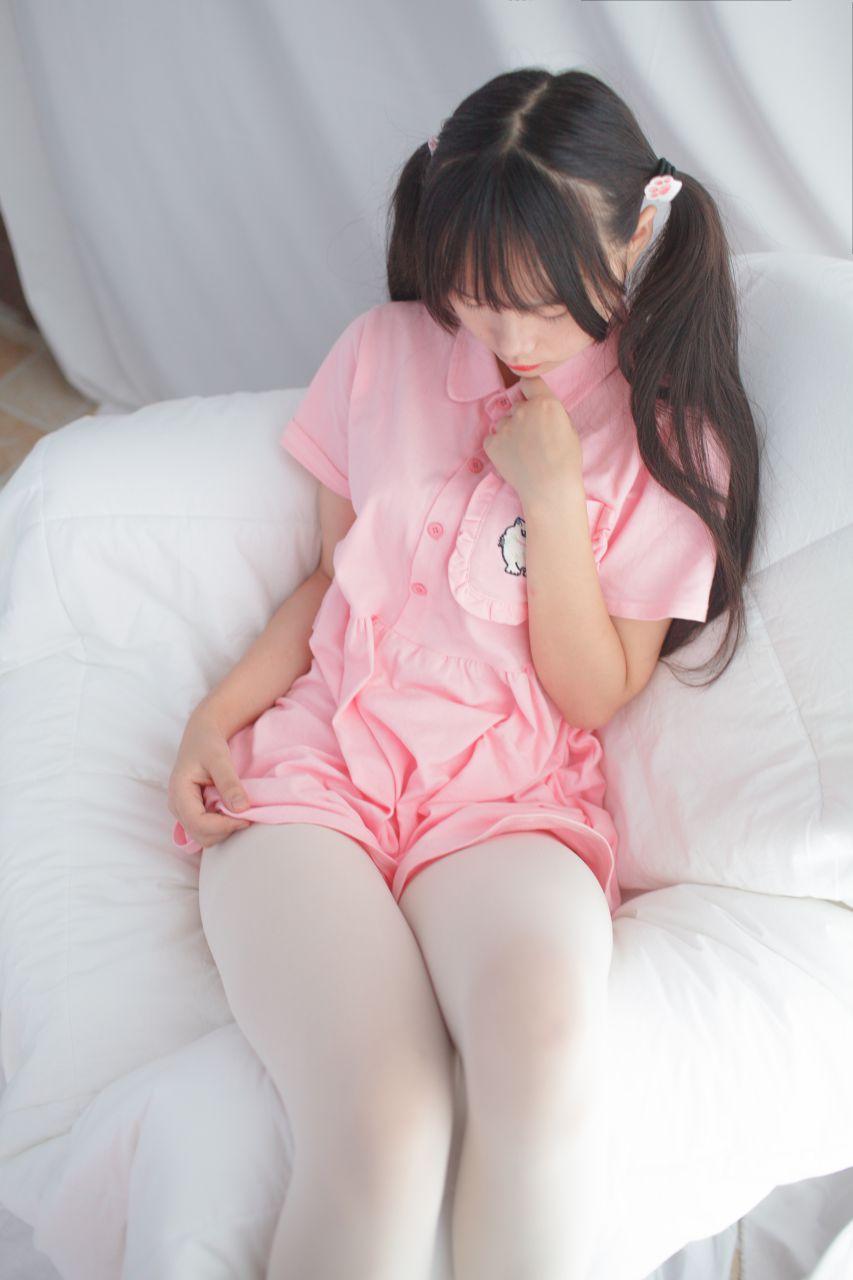 少女秩序 EXVOL.01 超好看的白丝写真 兔玩映画 第18张