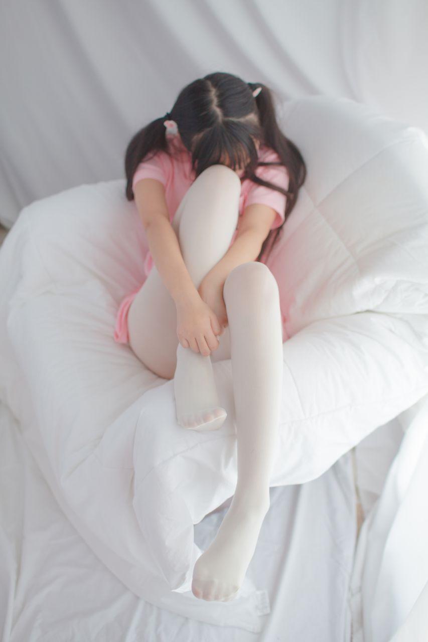 少女秩序 EXVOL.01 超好看的白丝写真 兔玩映画 第26张