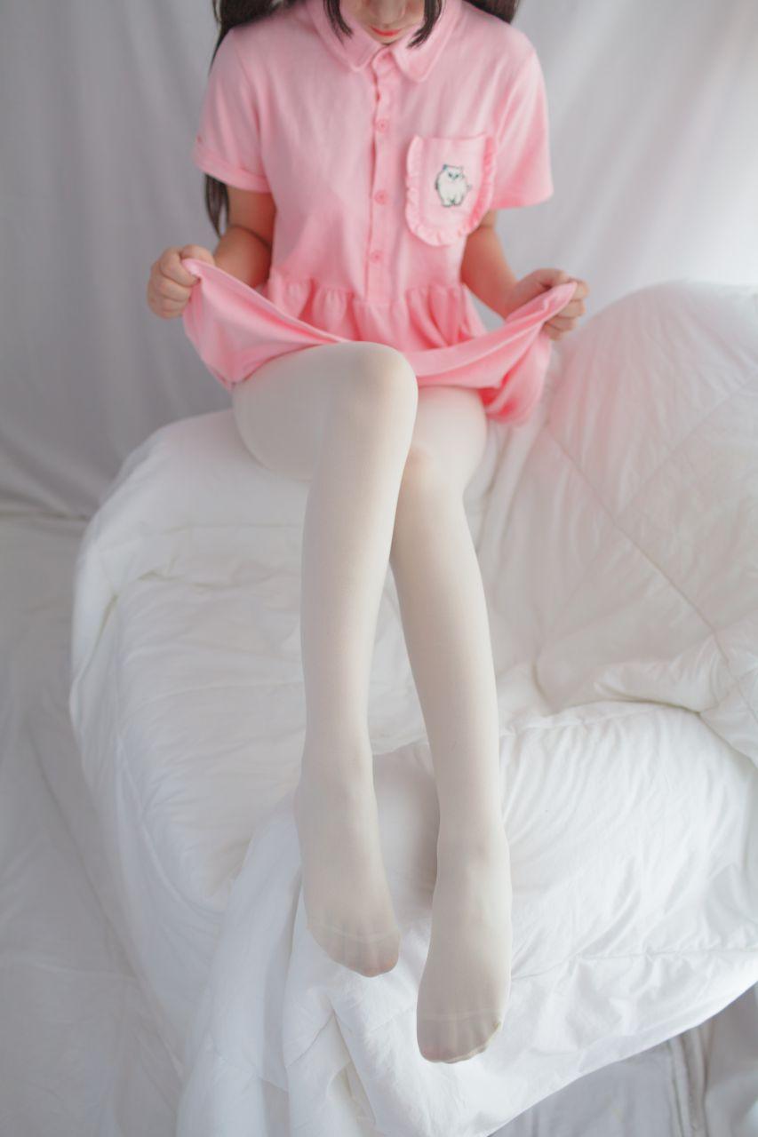 少女秩序 EXVOL.01 超好看的白丝写真 兔玩映画 第45张
