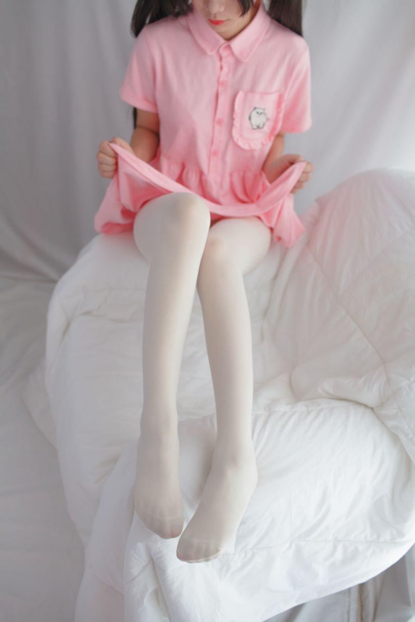 少女秩序 EXVOL.01 超好看的白丝写真 兔玩映画 第46张