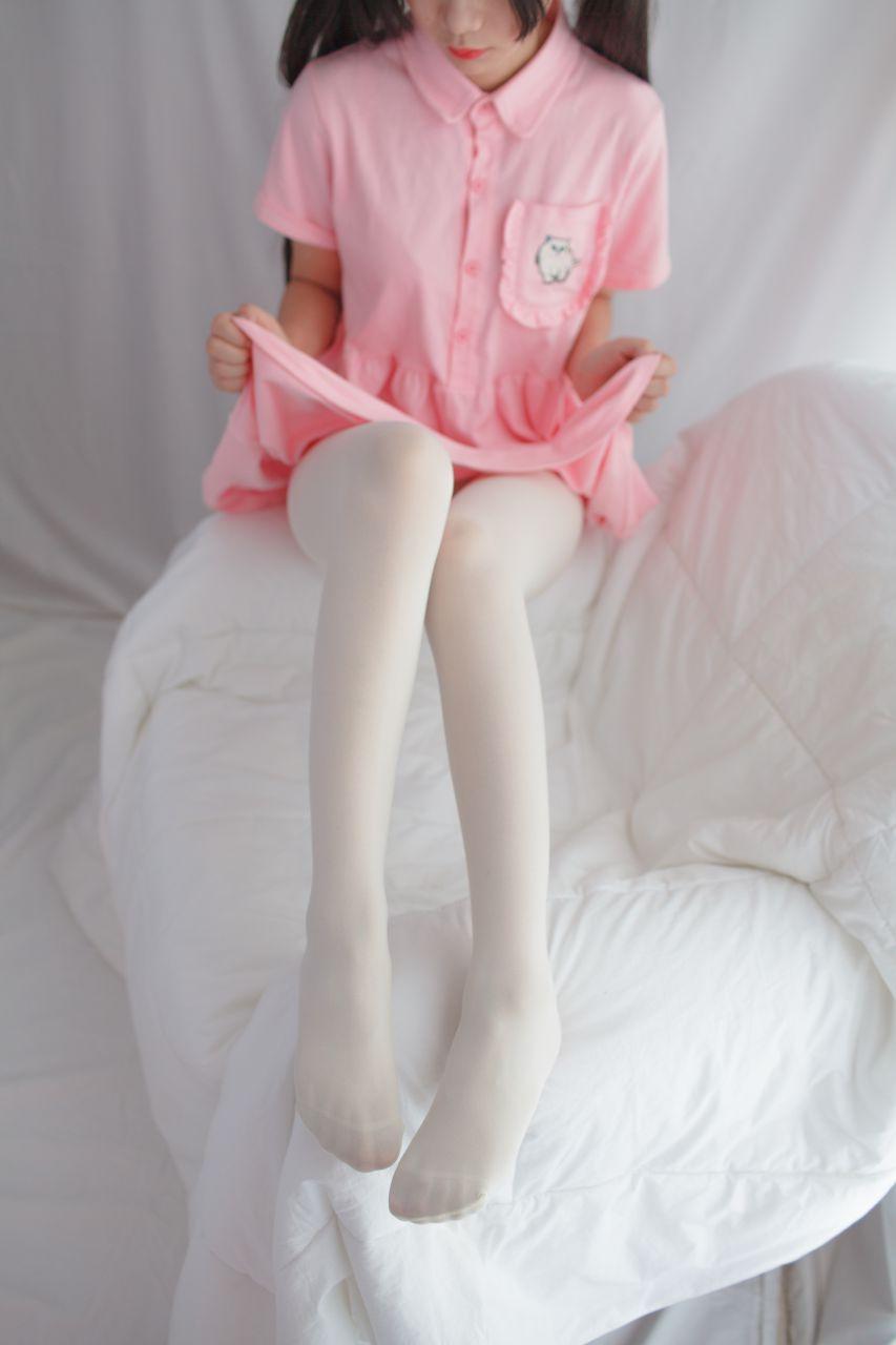 少女秩序 EXVOL.01 超好看的白丝写真 兔玩映画 第47张