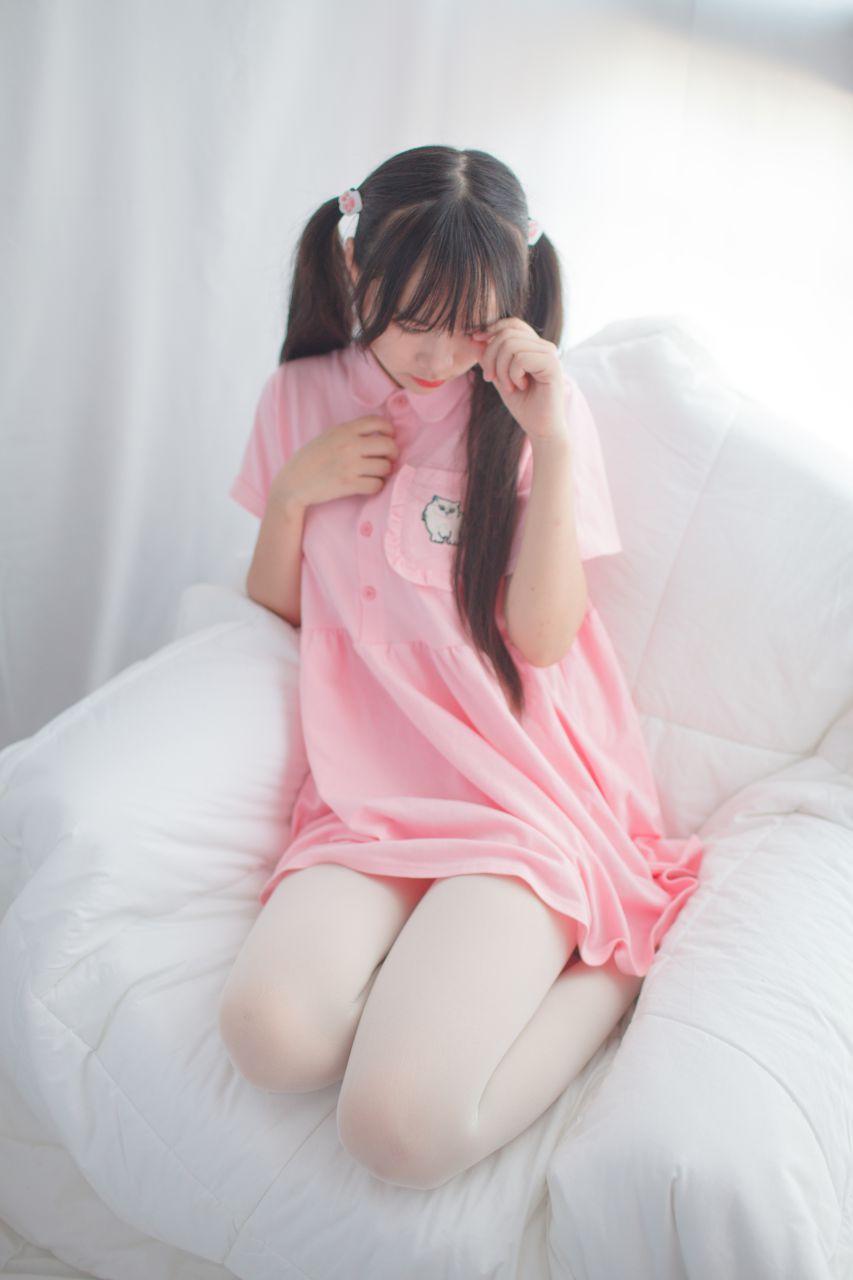 少女秩序 EXVOL.01 超好看的白丝写真 兔玩映画 第55张