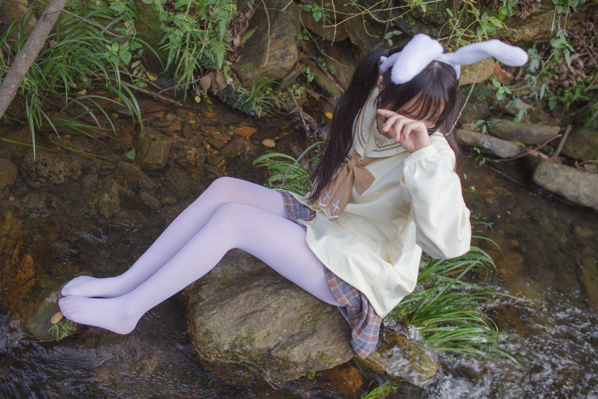 少女秩序 EXVOL.02 白丝户外 活捉野外小姐姐 兔玩映画 第33张