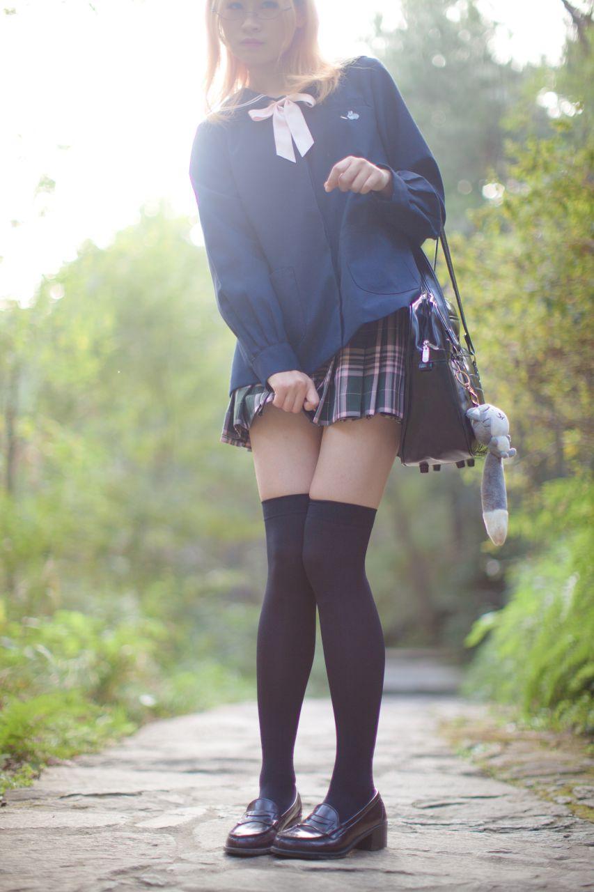 少女秩序 EXVOL.02 白丝户外 活捉野外小姐姐 兔玩映画 第46张