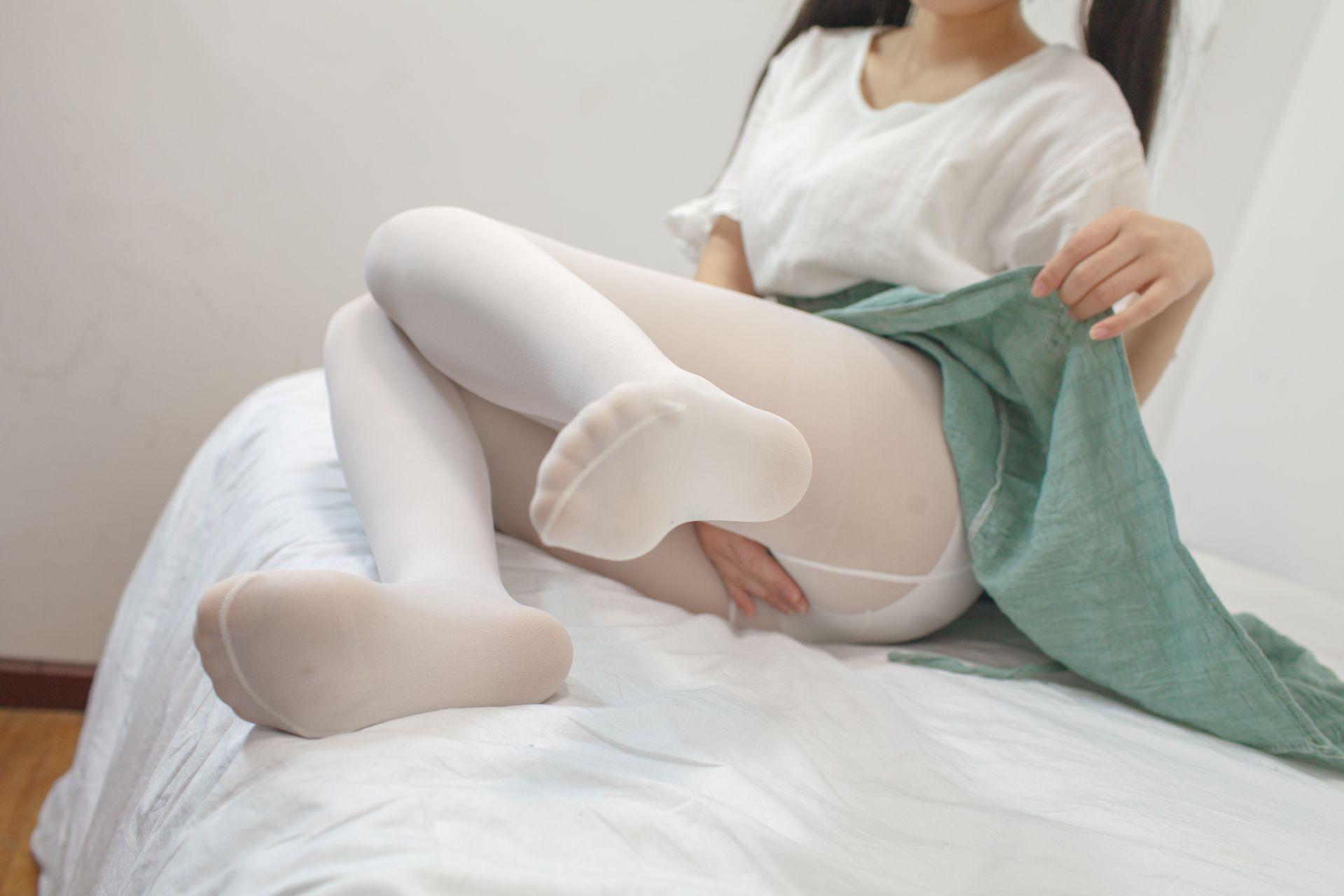 少女秩序 EXVOL.03 私房白丝美腿 兔玩映画 第17张