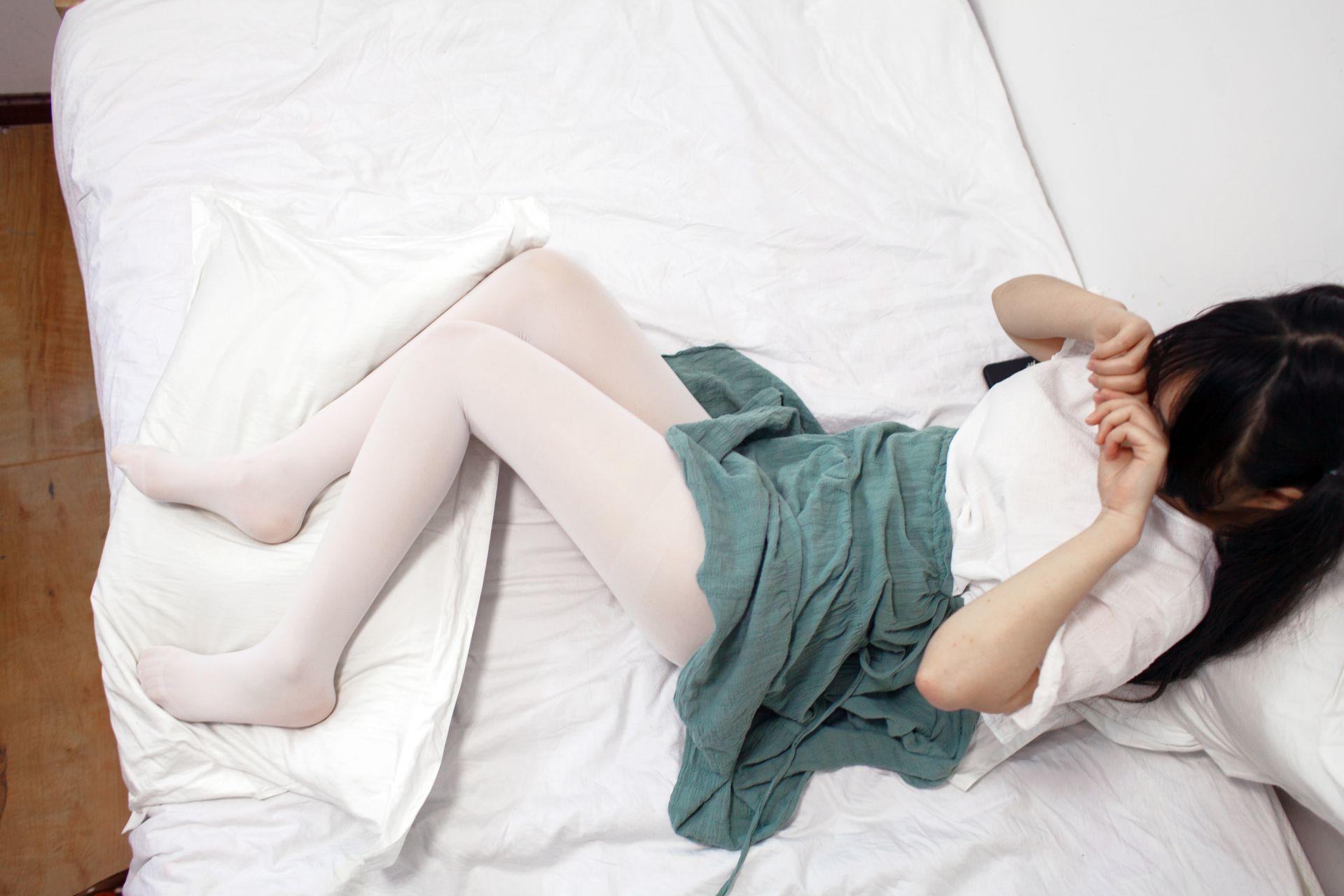 少女秩序 EXVOL.03 私房白丝美腿 兔玩映画 第25张