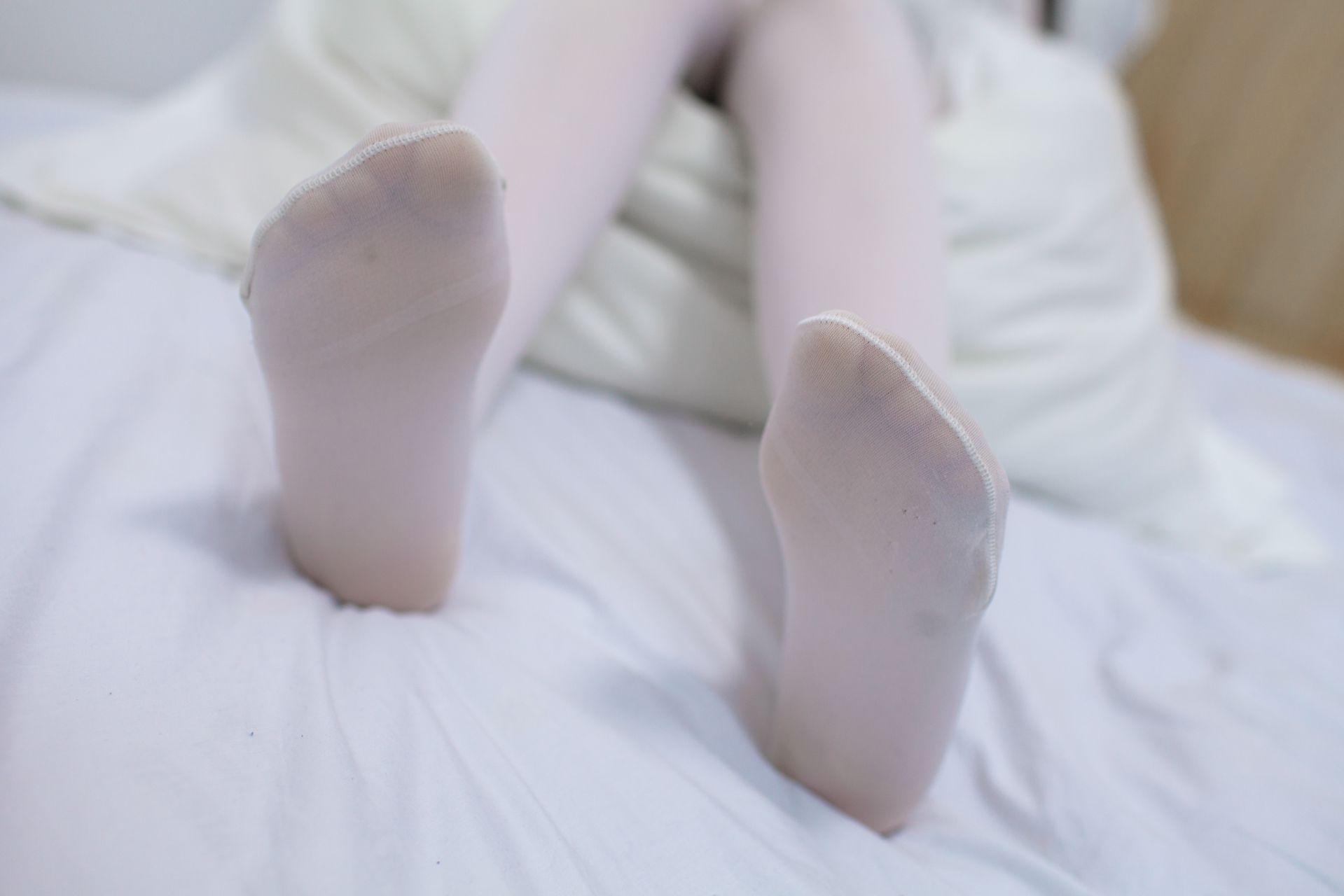 少女秩序 EXVOL.03 私房白丝美腿 兔玩映画 第28张