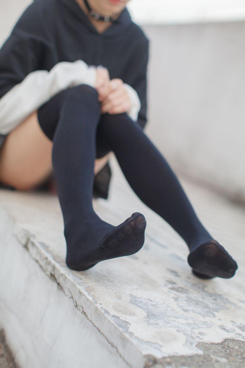少女秩序 EXVOL.04 天台的黑丝小恶魔 兔玩映画 第31张