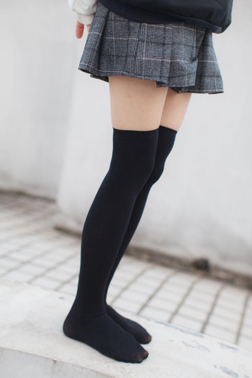 少女秩序 EXVOL.04 天台的黑丝小恶魔 兔玩映画 第37张