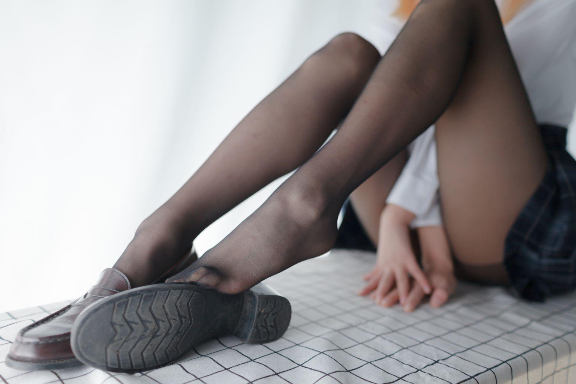 少女秩序 EXVOL.05 黑丝的绝对诱惑 兔玩映画 第9张
