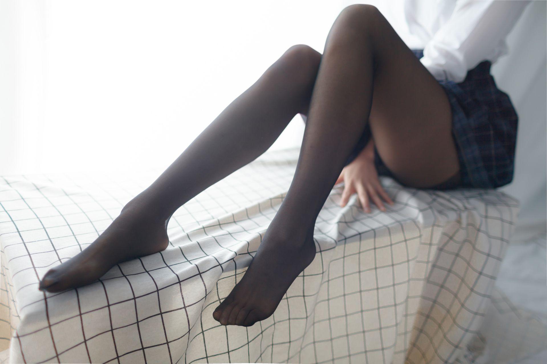 少女秩序 EXVOL.05 黑丝的绝对诱惑 兔玩映画 第19张