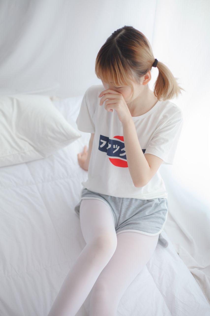 少女秩序 VOL.001 白色丝袜~ 兔玩映画 第17张