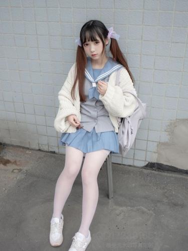 【森萝财团】森萝财团写真 – X-061 80D薄白丝 [65P-1V-1.21GB]