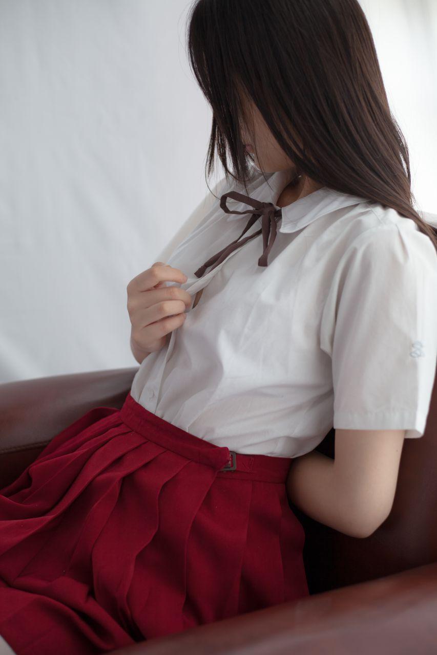 少女秩序 VOL.004 艳丽的小红裙 兔玩映画 第13张