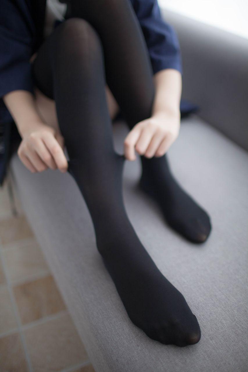 少女秩序 VOL.006 新买的黑丝 兔玩映画 第42张