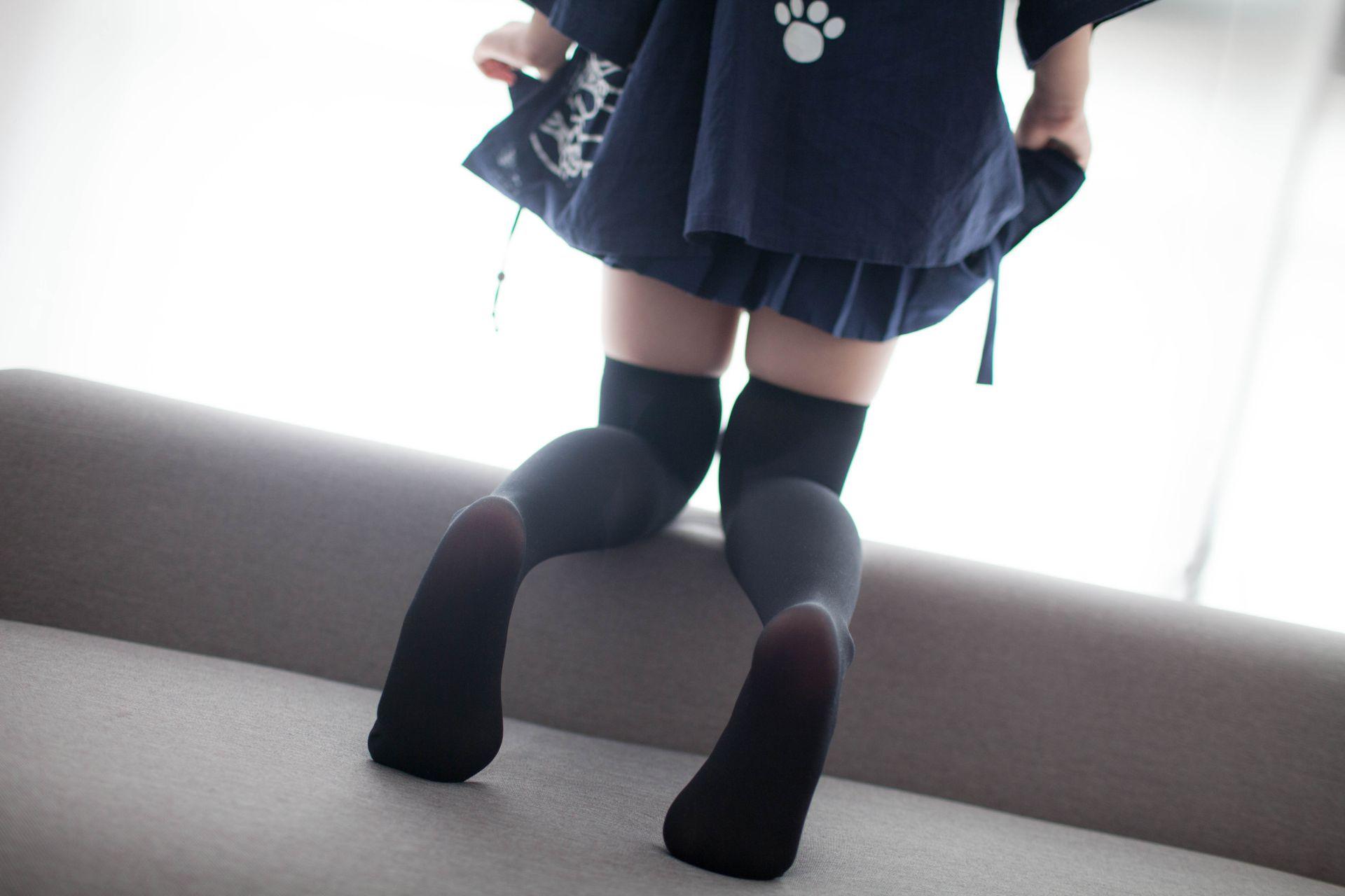 少女秩序 VOL.006 新买的黑丝 兔玩映画 第48张