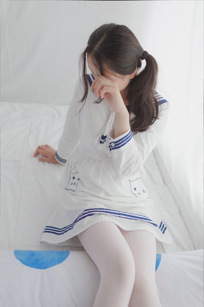 少女秩序 VOL.009 诱人的白丝长腿 兔玩映画 第1张
