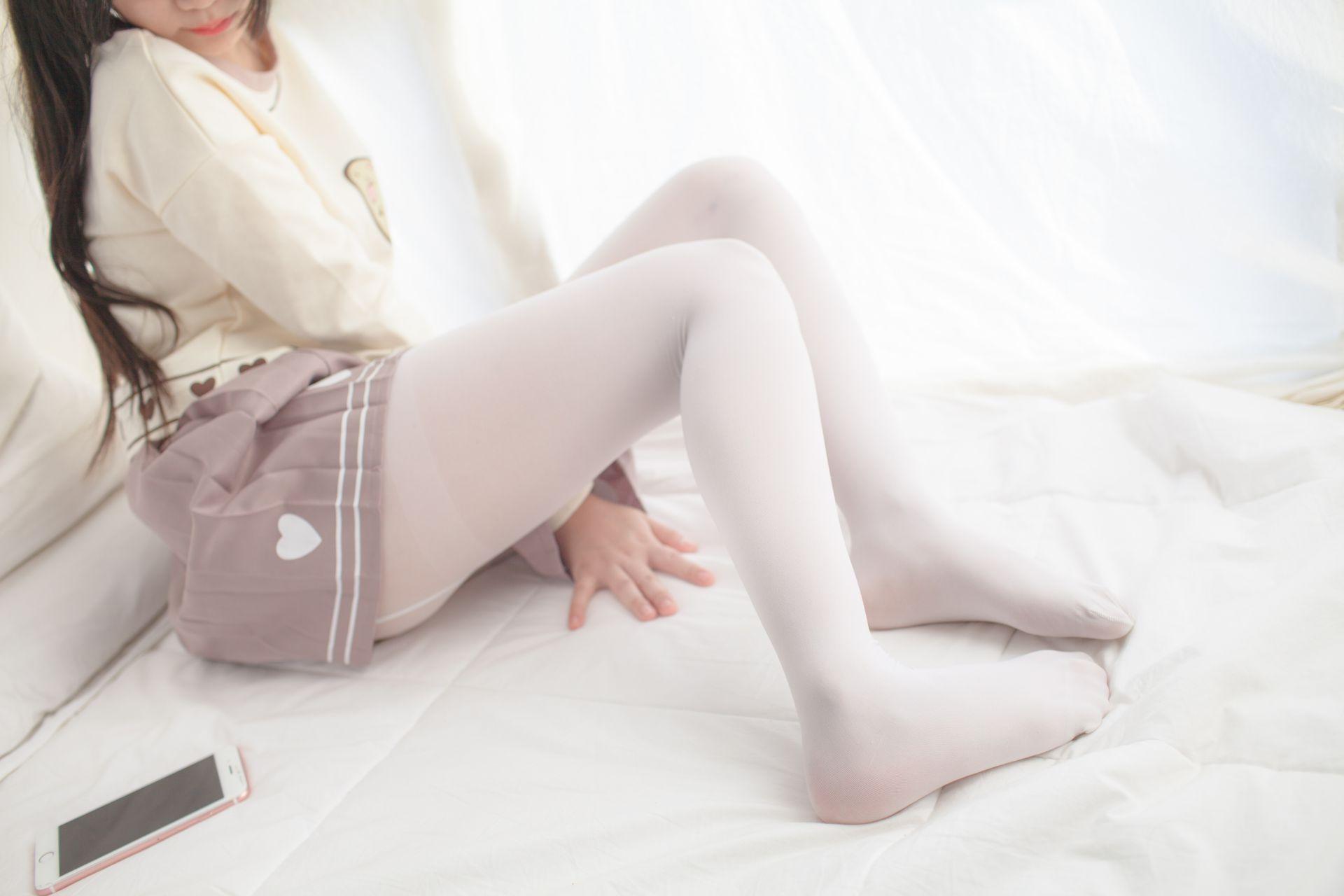 少女秩序 VOL.012 少女的丝足特写 兔玩映画 第26张