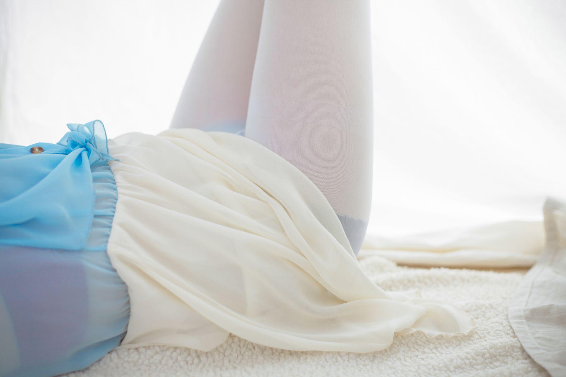少女秩序 VOL.015 超薄丝袜的质感 兔玩映画 第42张