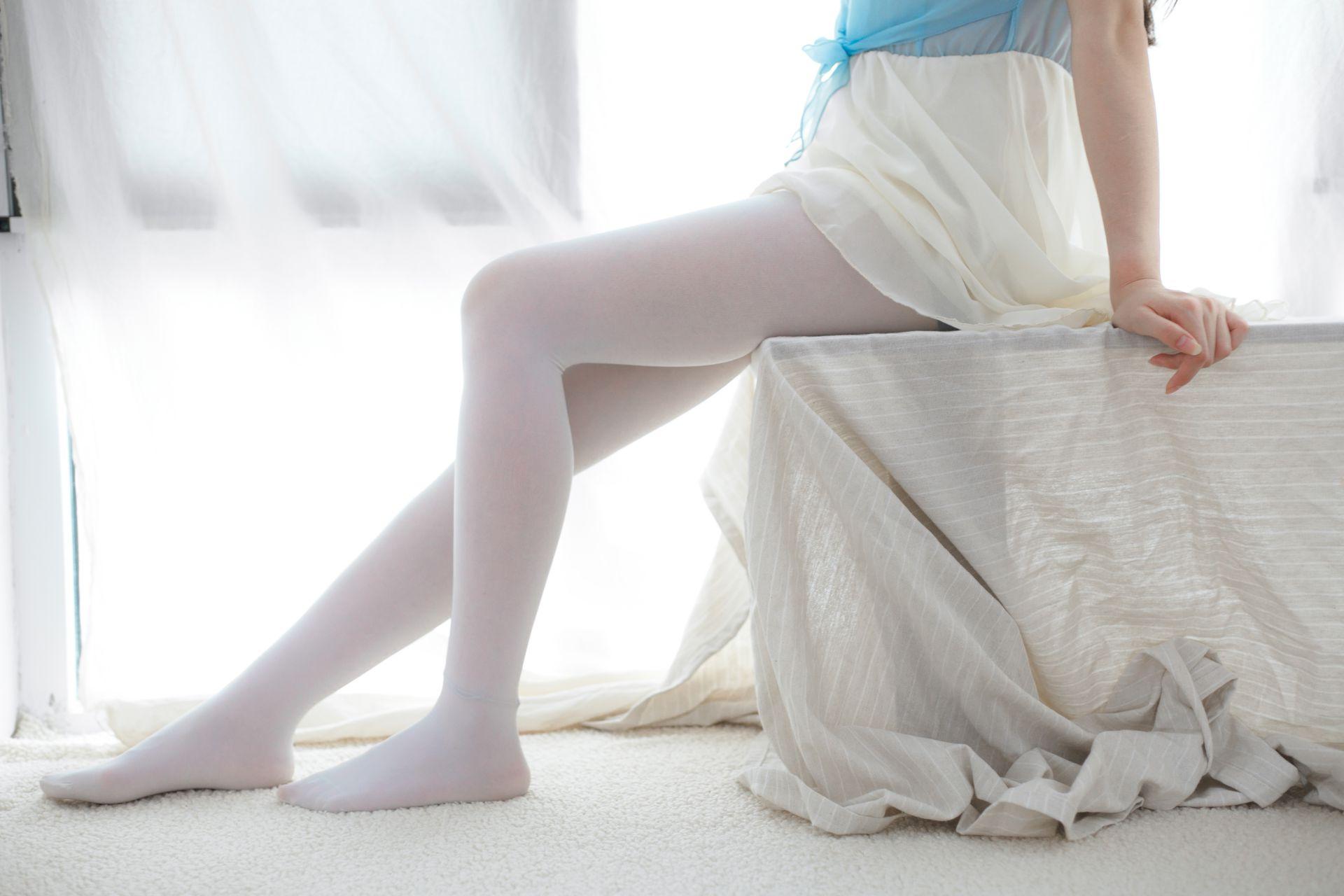 少女秩序 VOL.015 超薄丝袜的质感 兔玩映画 第8张