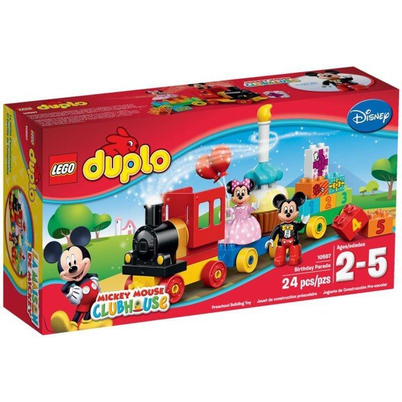LEGO 乐高 Duplo得宝系列 米奇和米妮的生日派对 10597 2-5歲 148元