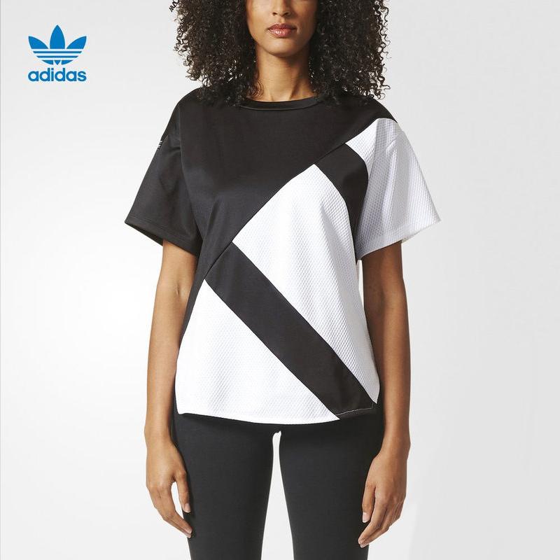 adidas 阿迪达斯 BP5106 女子运动T恤