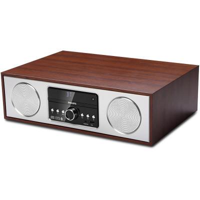 Philips/飞利浦 CN-DTM380/93 音响 音箱 CD机 USB播放机 迷你音响 复古木质 无线蓝牙HIF