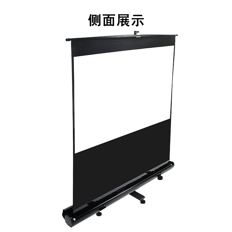 亿立(Elite Screens)F100NWH 100英寸16:9 白玻纤地拉式投影幕布 投影仪幕布 幕布