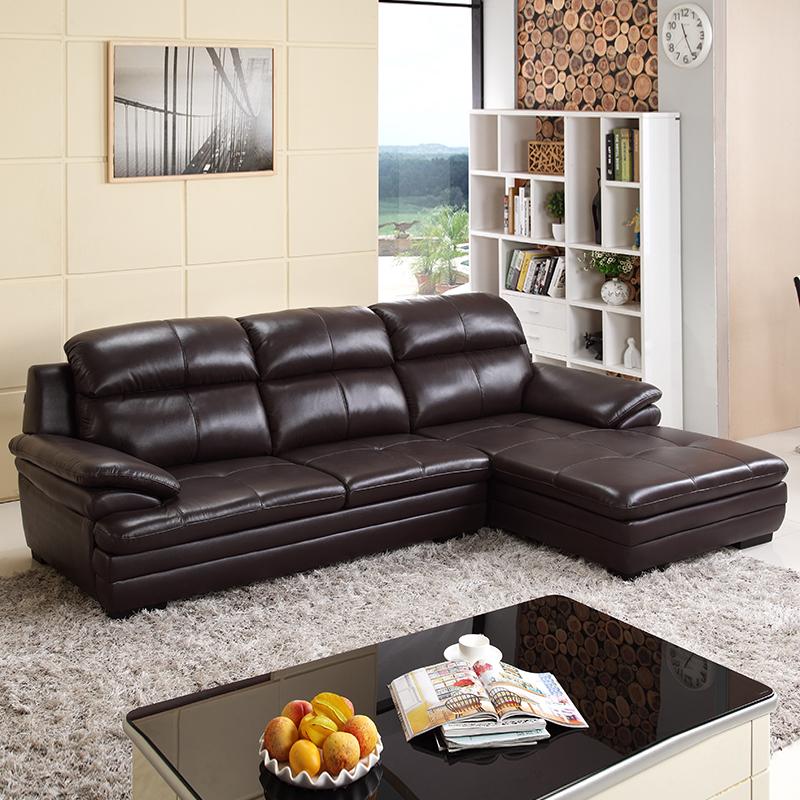 左右傢俬 DZY2821 真皮沙发组合 转二件 双重优惠折后¥6049