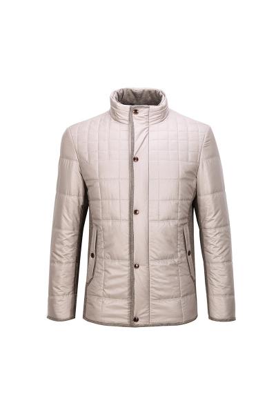 柒牌羽绒服青年男士商务男装修身款男装休闲白鸭绒保暖羽绒外套