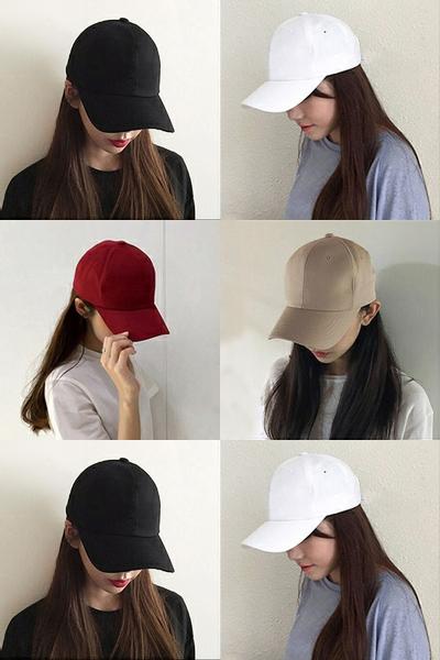 现代男孩(XIANDAINANHAI)帽子女 明星同款运动鞋棒球帽情侣弯檐鸭舌帽遮阳帽男夏天白色帽
