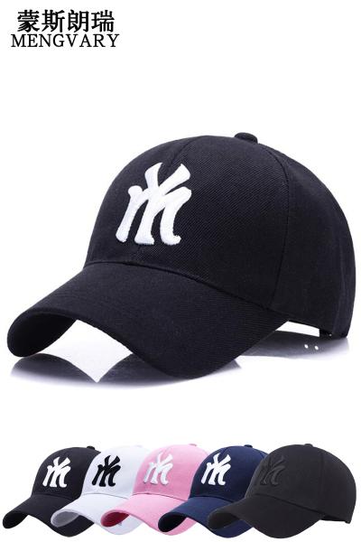 蒙斯朗瑞帽子男女韩版潮运动棒球帽情侣春夏户外嘻哈鸭舌帽四季通用百搭防晒遮阳帽
