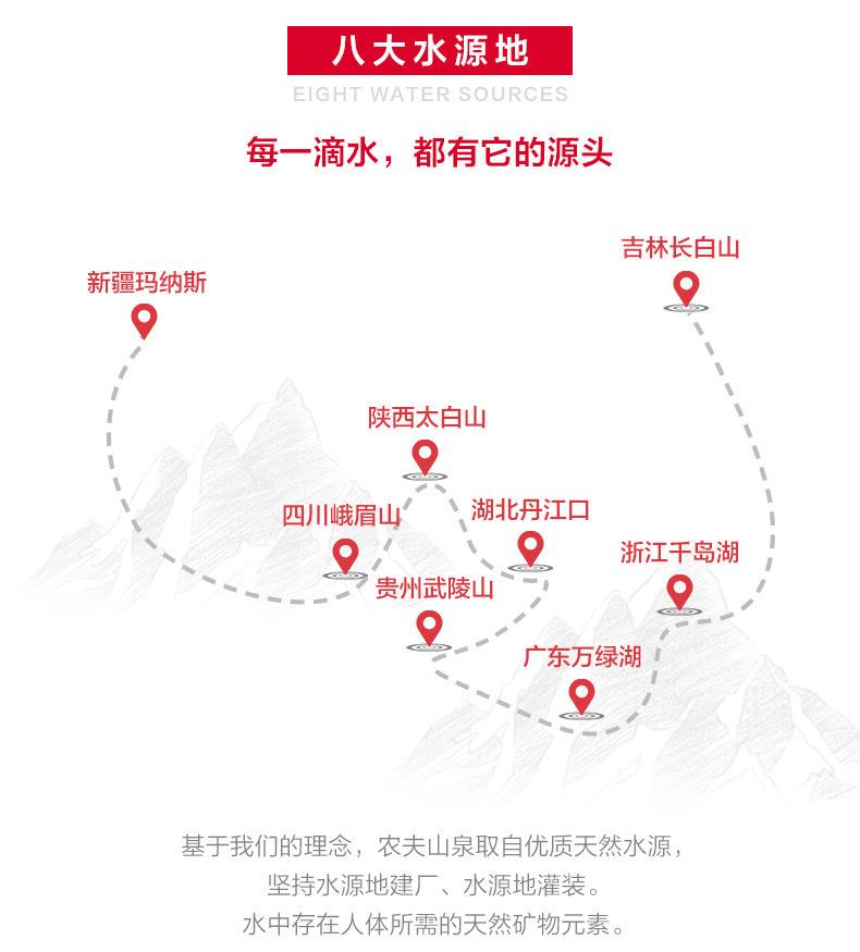 【苏宁专供】农夫山泉天然水4L*4箱装 家庭用水
