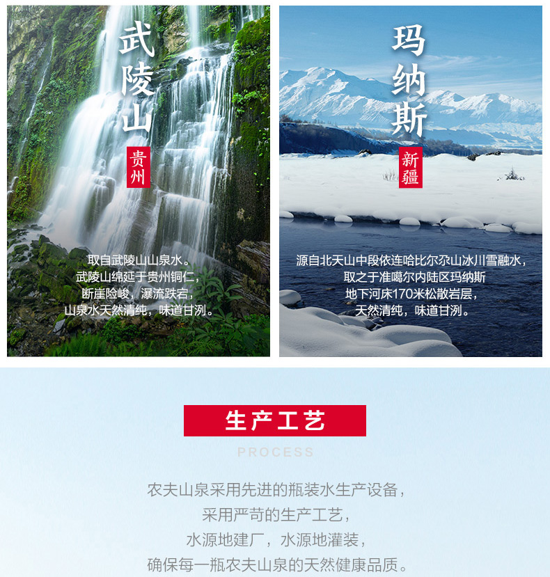 【苏宁专供】农夫山泉饮用天然水塑膜量贩装550ml*12瓶